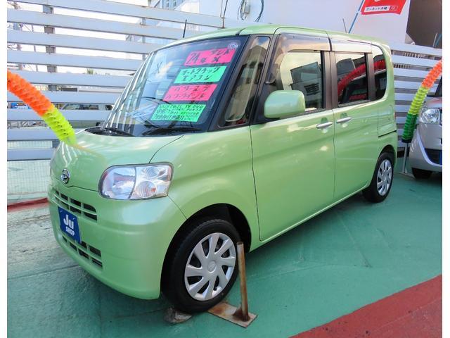 沖縄県の中古車ならタント X スマートキー パワースライドドア ナビ TV DVD ETC エコアイドル セキュリティアラーム 1年保証