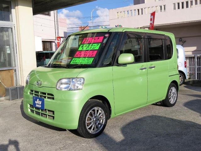 沖縄県の中古車ならタント Xリミテッド パワースライドドア バックカメラ ナビ TV ETC エコアイドル 1年保証