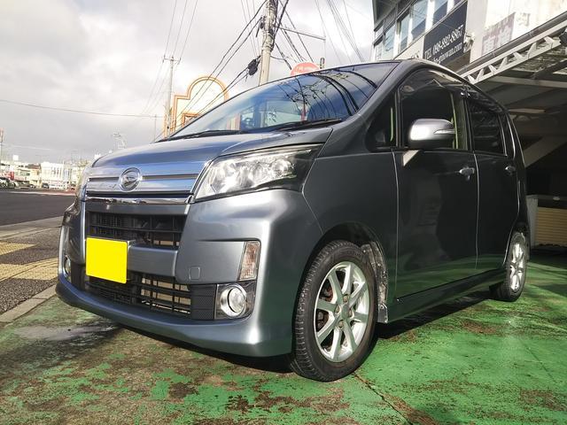 沖縄県宜野湾市の中古車ならムーヴ カスタム X ドライブレコーダー エコアイドル スマートキー プッシュスタートボタン