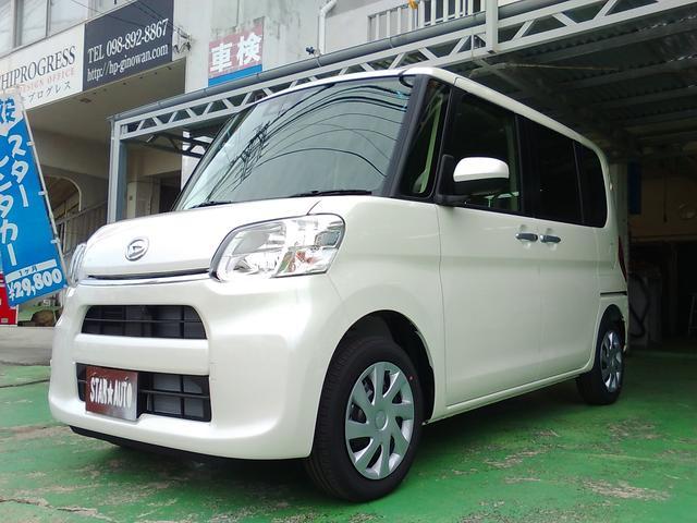 沖縄の中古車 ダイハツ タント 車両価格 149万円 リ済込 新車  パールホワイト