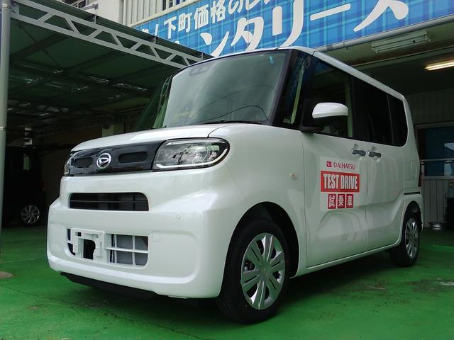 沖縄の中古車 ダイハツ タント 車両価格 146万円 リ済込 新車  パールホワイト