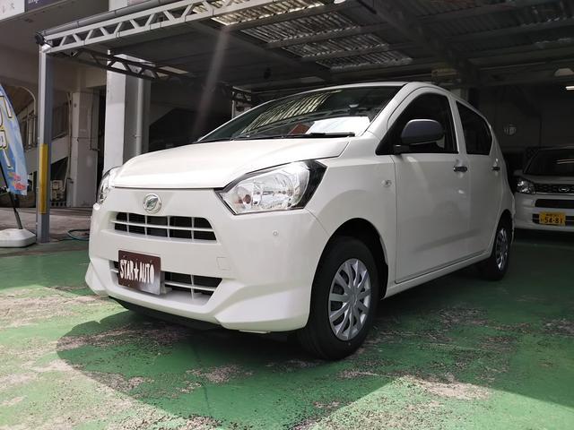 沖縄の中古車 ダイハツ ミライース 車両価格 63万円 リ済込 2017(平成29)年 2.5万km パールホワイト