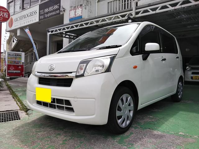 沖縄の中古車 ダイハツ ムーヴ 車両価格 53万円 リ済込 2013(平成25)年 3.9万km パールホワイト