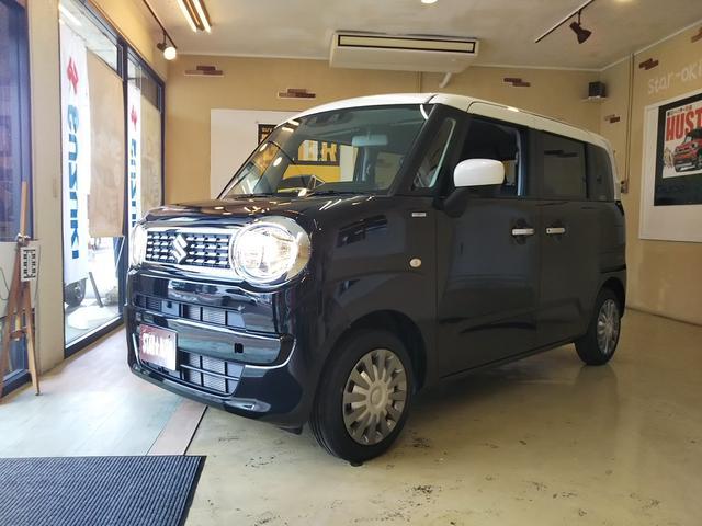 沖縄の中古車 スズキ ワゴンRスマイル 車両価格 165万円 リ済込 新車  ブラック×ホワイト