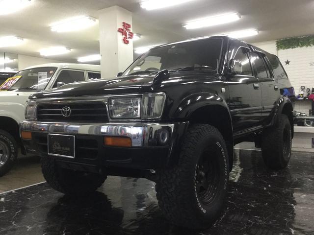 沖縄県の中古車ならハイラックスサーフ ディーゼルターボ車/本土中古車・修復なし