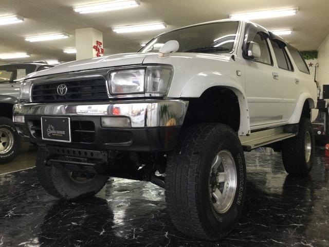 沖縄の中古車 トヨタ ハイラックスサーフ 車両価格 129万円 リ済込 1994(平成6)年 15.1万km ホワイト