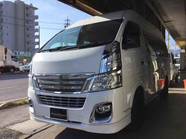 沖縄の中古車 日産 NV350キャラバンバン 車両価格 85万円 リ済込 2013(平成25)年 34.0万km ホワイトM