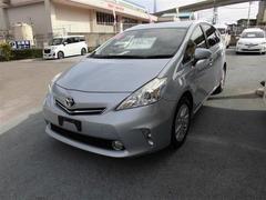 沖縄の中古車 トヨタ プリウスアルファ 車両価格 156.6万円 リ済別 平成25年 5.8万K ブルー
