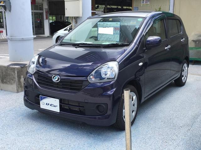 沖縄の中古車 ダイハツ ミライース 車両価格 59.4万円 リ済別 2013(平成25)年 1.3万km 紺M