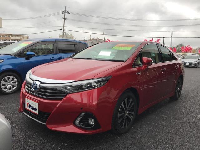 沖縄の中古車 トヨタ SAI 車両価格 159万円 リ済別 2013(平成25)年 3.7万km レッド