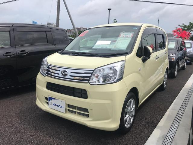 沖縄の中古車 ダイハツ ムーヴ 車両価格 113.4万円 リ済別 2018(平成30)年 685km ライトイエロー