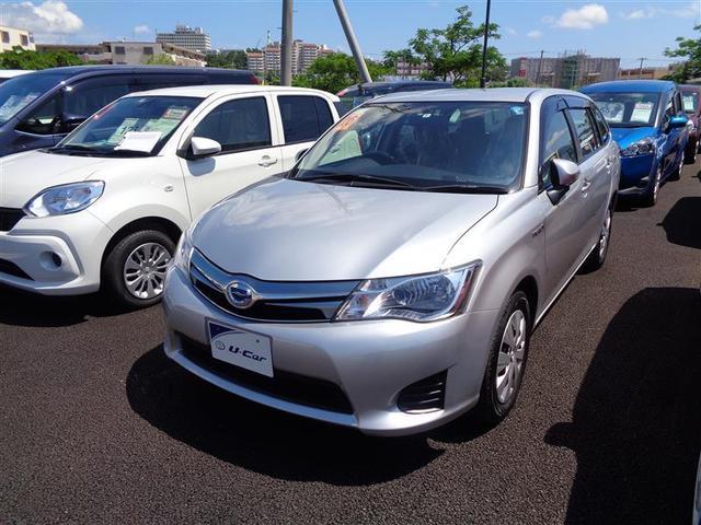 沖縄県の中古車ならカローラフィールダー ハイブリッド