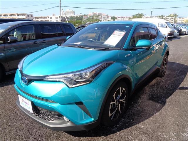 C-HR(沖縄 中古車) 色:グリーン 価格:258.5万円 年式:2017(平成29)年 走行距離:0.8万km