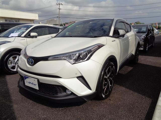 C-HR(沖縄 中古車) 色:ホワイトパールクリスタルシャイン 価格:258.6万円 年式:2017(平成29)年 走行距離:2.5万km