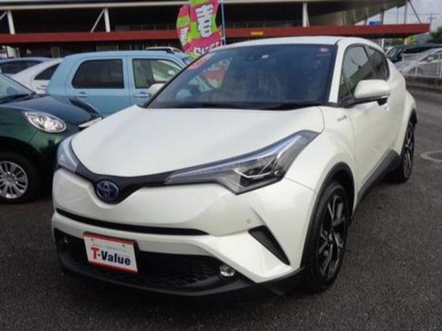 C-HR(沖縄 中古車) 色:ホワイトパールクリスタルシャイン 価格:247.5万円 年式:2018(平成30)年 走行距離:3.0万km