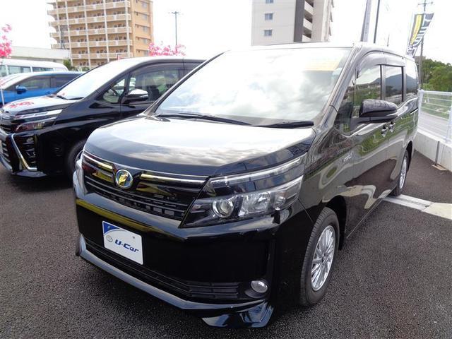 沖縄の中古車 トヨタ ヴォクシー 車両価格 220万円 リ済別 2016(平成28)年 4.3万km ブラック
