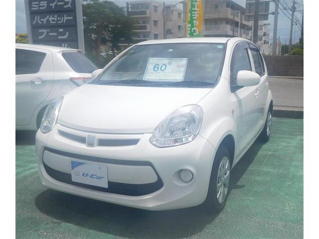 沖縄の中古車 トヨタ パッソ 車両価格 55万円 リ済別 2014(平成26)年 5.5万km ホワイト