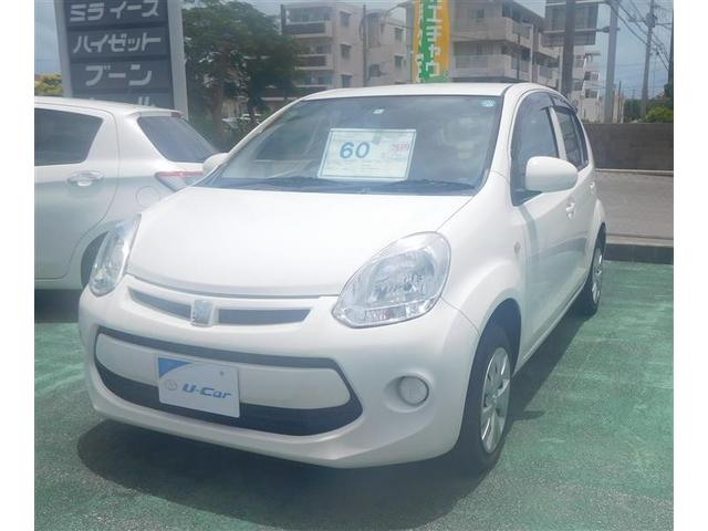 沖縄県の中古車ならパッソ X キーレス ナビTV CD ベンチシート 横滑り防止装置 アイドリングストップ 電格ミラー 点検記録簿付き