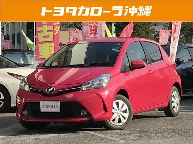 沖縄の中古車 トヨタ ヴィッツ 車両価格 115万円 リ済別 平成26年 1.7万km ピンク