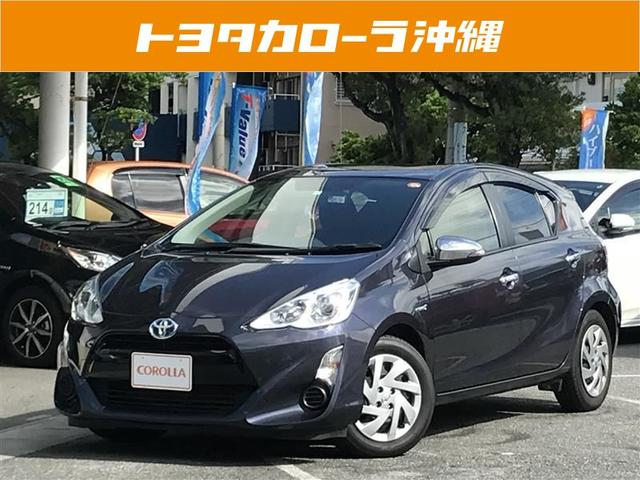 沖縄の中古車 トヨタ アクア 車両価格 119万円 リ済別 平成27年 7.2万km ライトパープルM