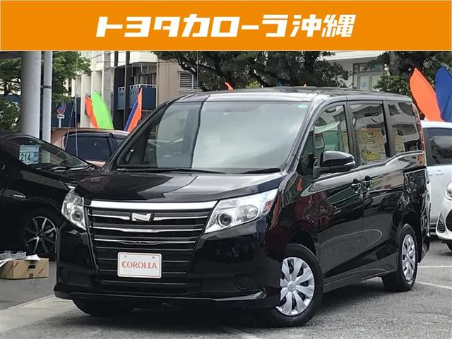 沖縄の中古車 トヨタ ノア 車両価格 219万円 リ済別 平成26年 2.5万km ブラック