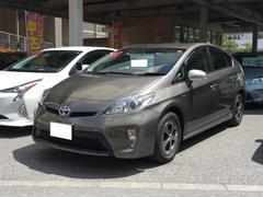沖縄の中古車 トヨタ プリウス 車両価格 148万円 リ済別 平成25年 5.5万K ゴールド