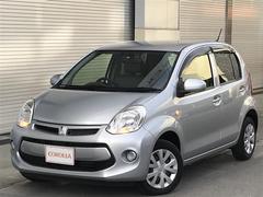 沖縄の中古車 トヨタ パッソ 車両価格 84万円 リ済別 平成26年 0.8万K シルバー