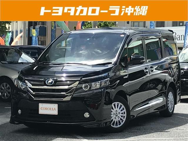 沖縄の中古車 トヨタ ヴォクシー 車両価格 272万円 リ済別 平成27年 3.9万km ブラック