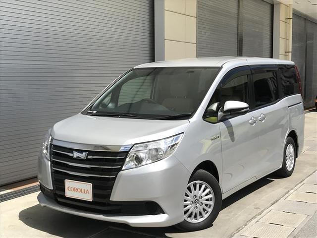 沖縄の中古車 トヨタ ノア 車両価格 228万円 リ済別 平成26年 5.0万km シルバー