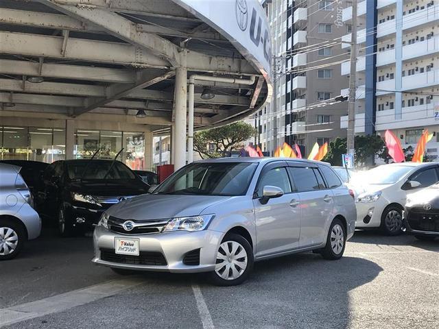 沖縄の中古車 トヨタ カローラフィールダー 車両価格 129万円 リ済別 平成27年 4.5万km シルバー