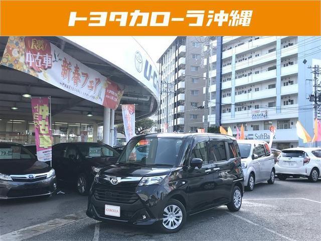 沖縄の中古車 トヨタ タンク 車両価格 153万円 リ済別 2017(平成29)年 1.4万km ブラック
