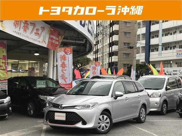 沖縄の中古車 トヨタ カローラフィールダー 車両価格 159万円 リ済別 平成29年 3.6万km シルバー
