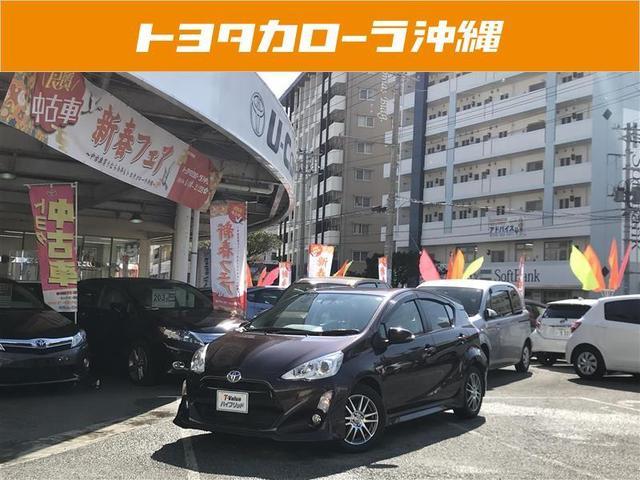 沖縄の中古車 トヨタ アクア 車両価格 154万円 リ済別 2016(平成28)年 5.0万km パープル