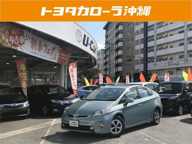 沖縄の中古車 トヨタ プリウスPHV 車両価格 136万円 リ済別 平成24年 5.1万km グリーン