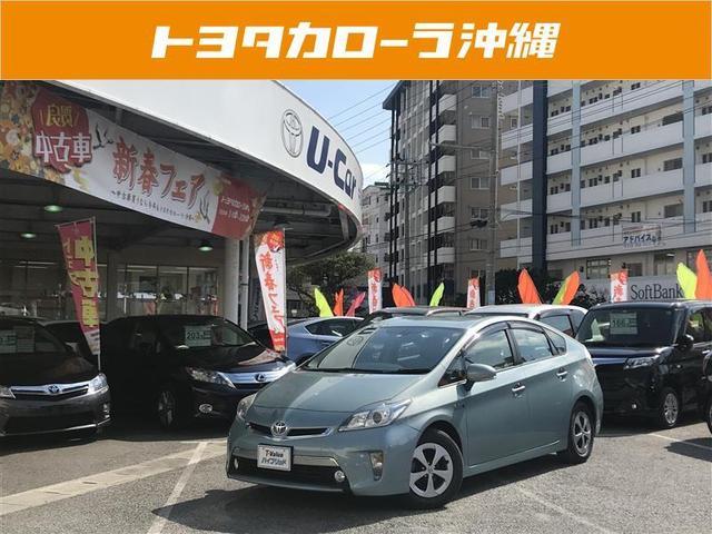 沖縄の中古車 トヨタ プリウスPHV 車両価格 136万円 リ済別 2012(平成24)年 5.1万km グリーン