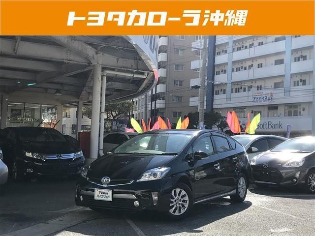 沖縄の中古車 トヨタ プリウスPHV 車両価格 197.8万円 リ済別 平成26年 3.9万km ブラック