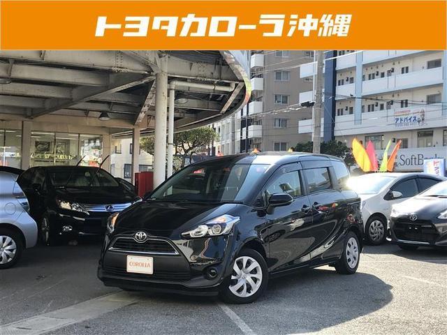 沖縄の中古車 トヨタ シエンタ 車両価格 140万円 リ済別 2015(平成27)年 3.7万km ブラックマイカ