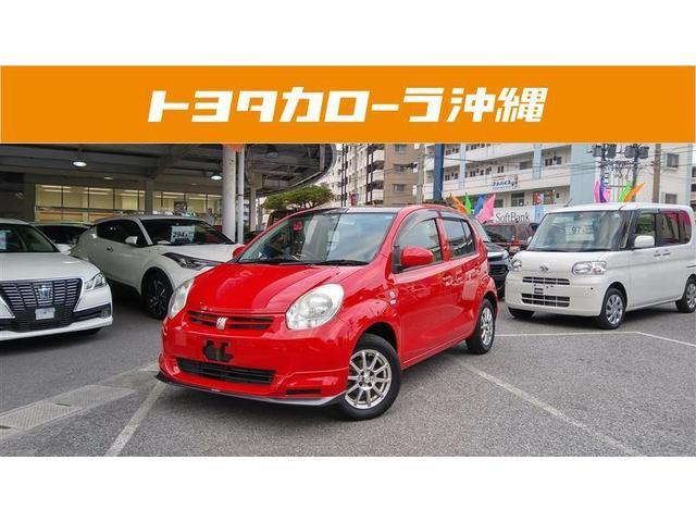 沖縄の中古車 トヨタ パッソ 車両価格 65万円 リ済別 2014(平成26)年 3.2万km レッド