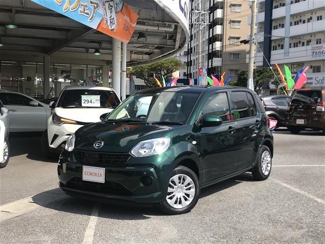 沖縄の中古車 ダイハツ ブーン 車両価格 118万円 リ済別 2018(平成30)年 1.6万km グリーン