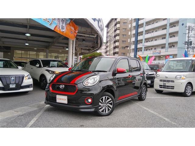 沖縄の中古車 ダイハツ ブーン 車両価格 125万円 リ済別 2017(平成29)年 0.5万km ブラック