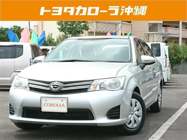 沖縄の中古車 トヨタ カローラアクシオ 車両価格 62万円 リ済別 2012(平成24)年 6.6万km シルバーM