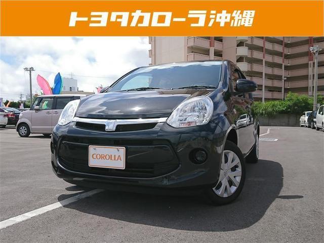 沖縄の中古車 トヨタ パッソ 車両価格 72万円 リ済別 2016(平成28)年 3.7万km ブラック