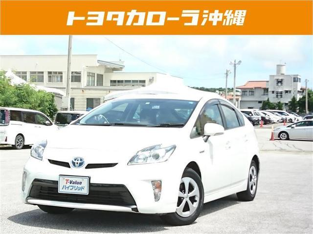 沖縄の中古車 トヨタ プリウス 車両価格 128万円 リ済別 2014(平成26)年 5.9万km パールマイカ