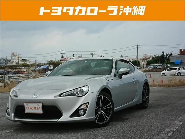 沖縄の中古車 トヨタ 86 車両価格 166万円 リ済別 2012(平成24)年 1.9万km シルバー