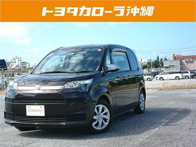 沖縄の中古車 トヨタ スペイド 車両価格 103.9万円 リ済別 2014(平成26)年 3.3万km パープル