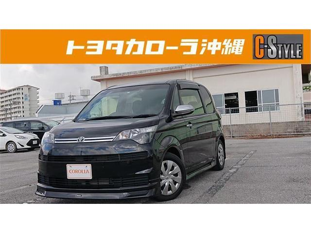 沖縄の中古車 トヨタ スペイド 車両価格 140.6万円 リ済別 2015(平成27)年 2.3万km ブラック