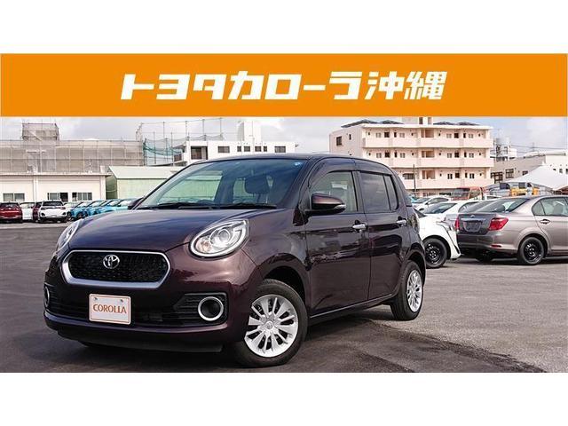 沖縄の中古車 トヨタ パッソ 車両価格 98万円 リ済別 2016(平成28)年 3.1万km ブラウン