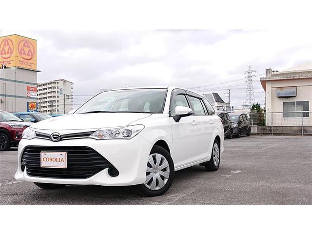 沖縄の中古車 トヨタ カローラフィールダー 車両価格 128万円 リ済別 2016(平成28)年 2.7万km ホワイト