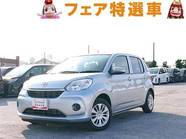 沖縄の中古車 トヨタ パッソ 車両価格 124万円 リ済別 2019年 0.8万km シルバー