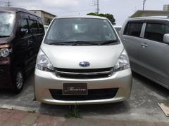 沖縄の中古車 スバル ステラ 車両価格 32万円 リ済込 平成24年 13.8万K ライトゴールド